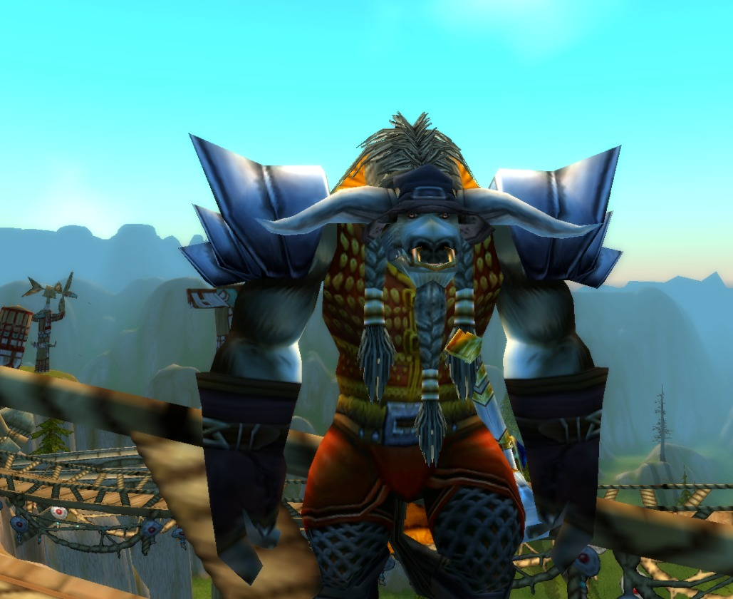 Screenshot z hry World of Warcraft.