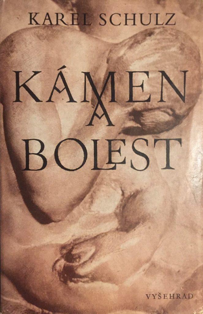 Obálka knihy Kámen a bolest, vydanie z roku 1977.