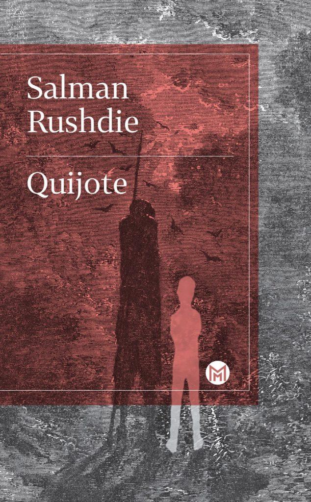 Obálka knihy Quijote od Salmana Rushdieho.