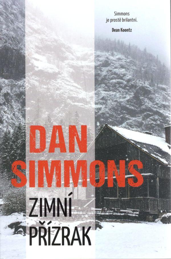 Obálka horového románu Dana Simmonsa s názvom Zimní přízrak.